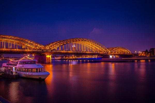 Landschaftsaufnahme in Köln
