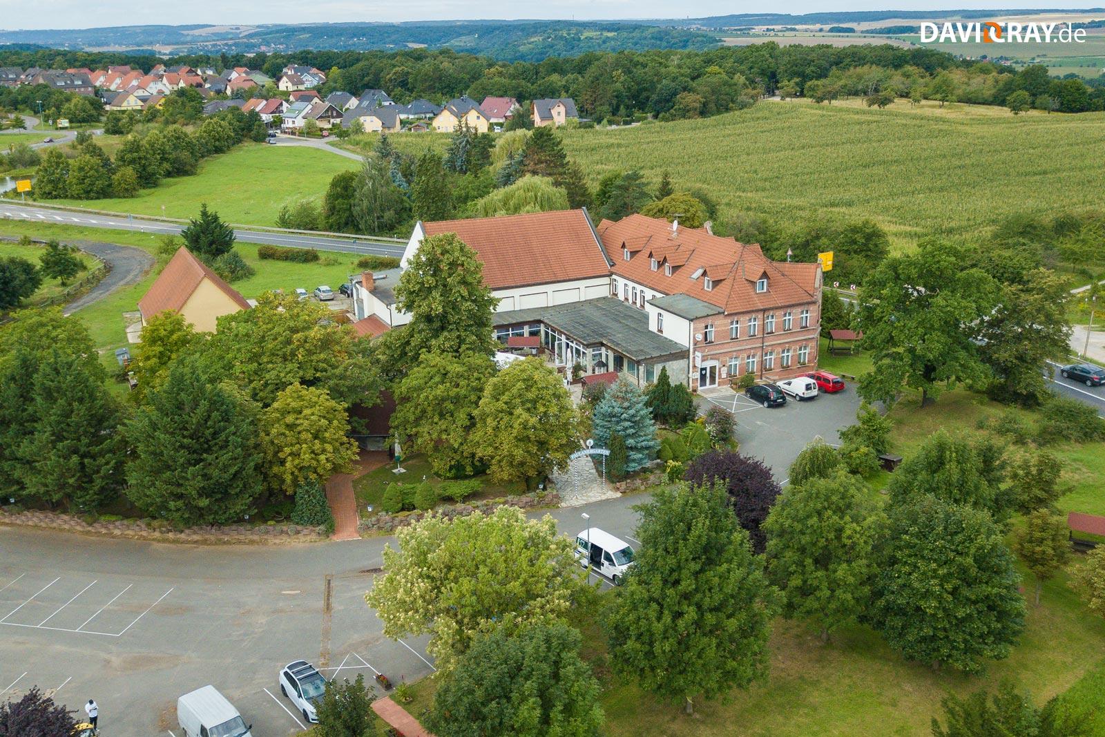 Drohnenfoto vom Hotel & Restaurant Schöne Aussicht